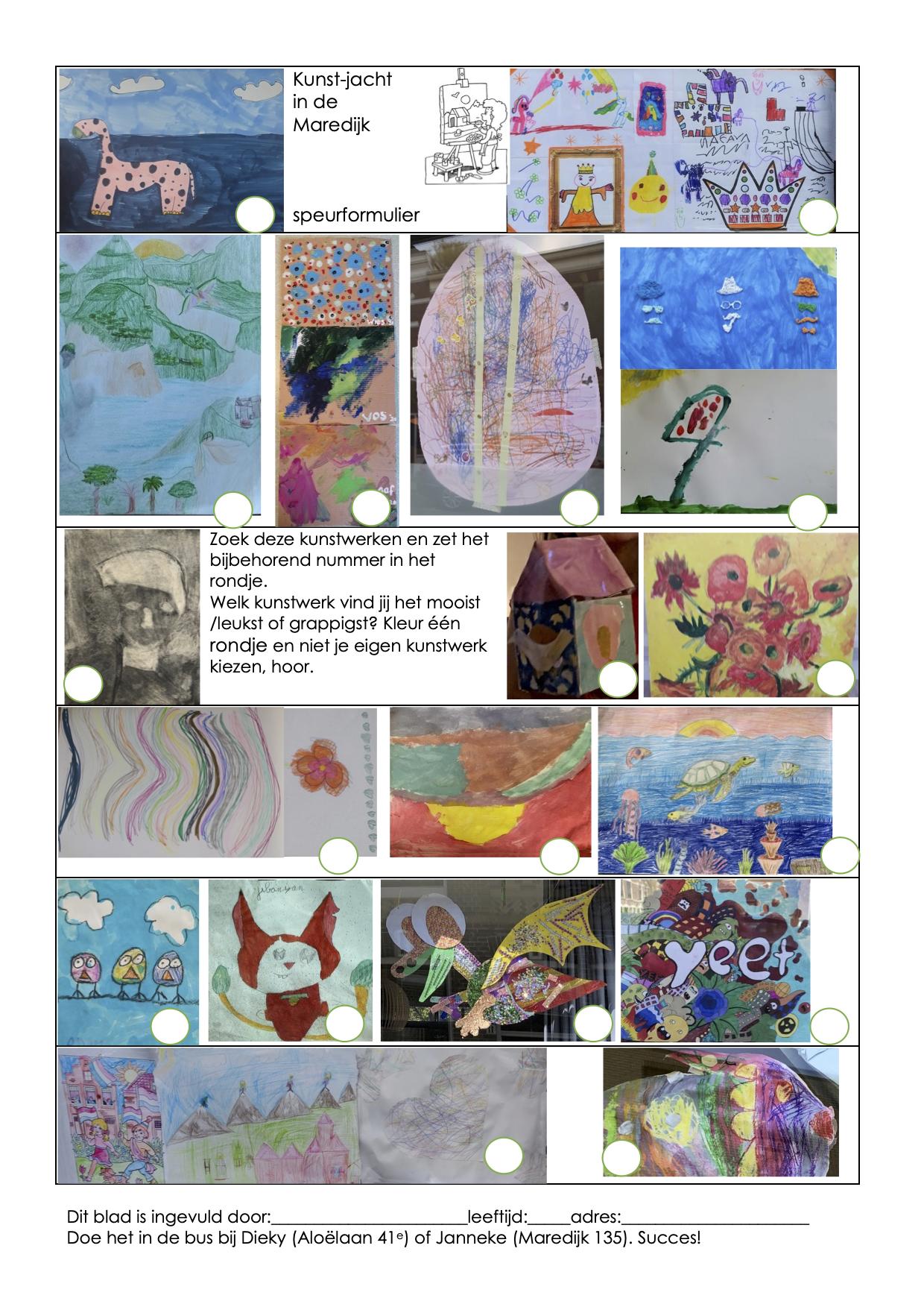 Kunstjacht: hier is het 'speurpapier'!